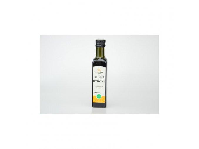 Natural Jihlava Olej dýňový za studena lisovaný 250 ml