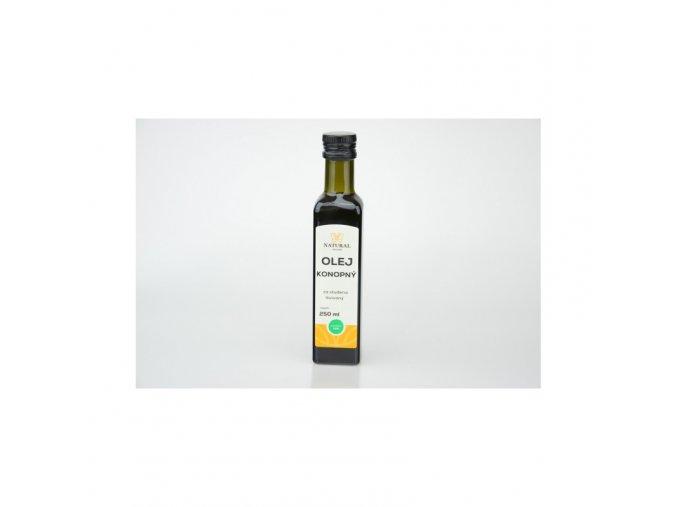 Natural Jihlava Olej konopný za studena lisovaný 250 ml