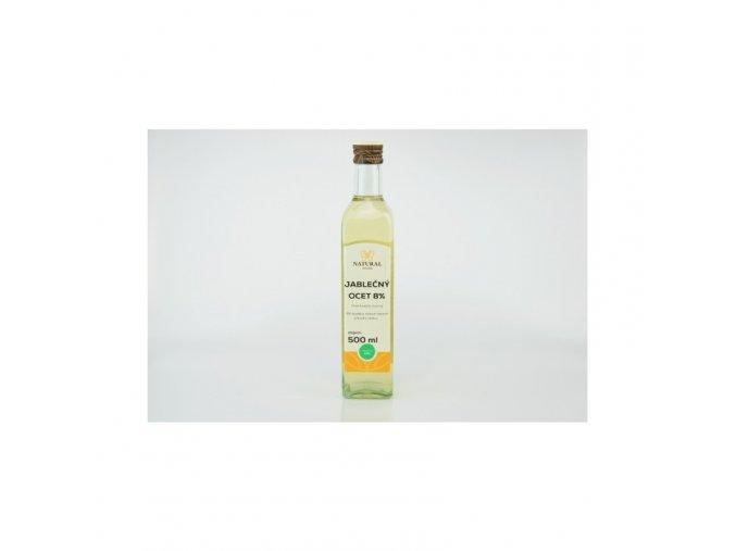 Natural Jihlava Jablečný ocet 8% 500 ml