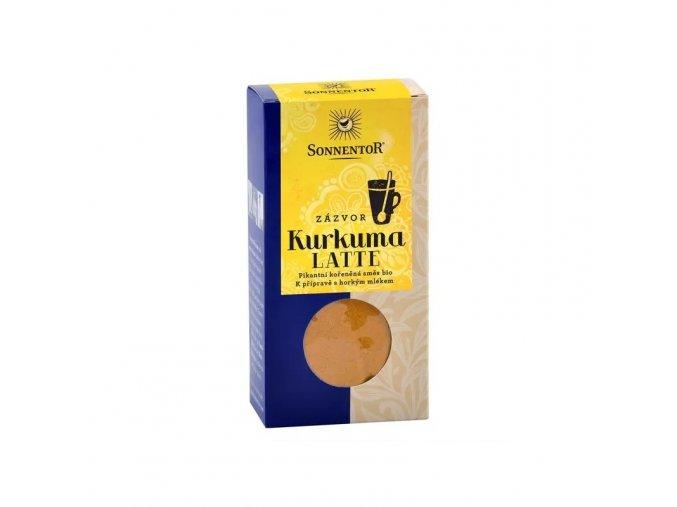 Sonnentor Kurkuma Latte zázvor 60 g krabička
