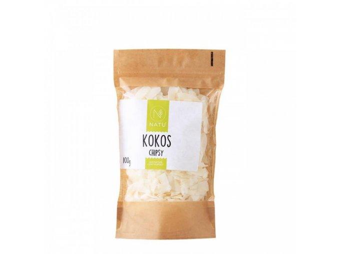 Natu Kokos chipsy 100 g
