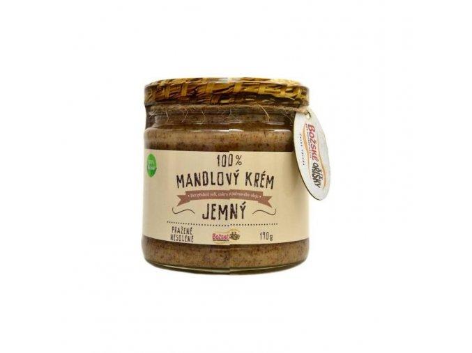 Božské oříšky Mandlový krém jemný 190 g