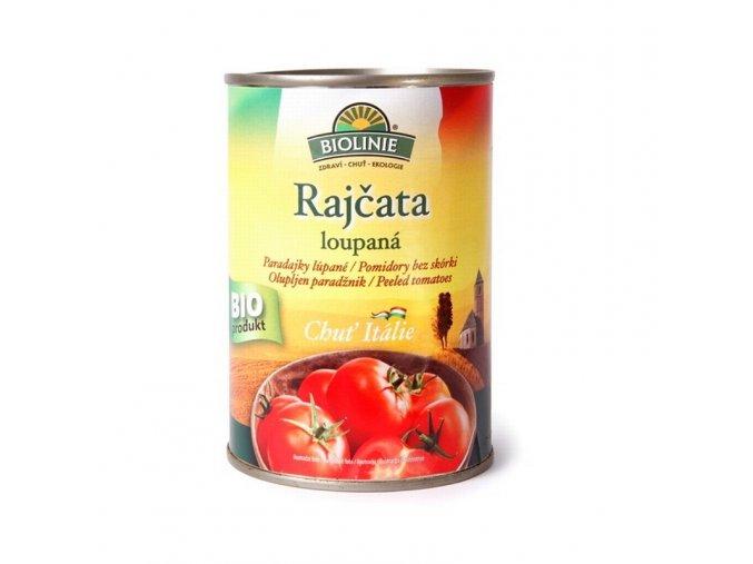 Biolinie Konzerva rajčata loupaná sterilovaná Bio 400 g