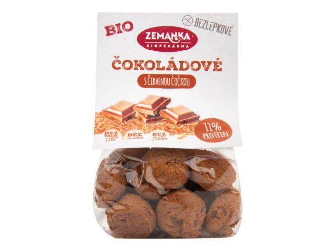 Bio Zemanka Hrudky čočkové s kokosem a čokoládou bezlepkové 100 g