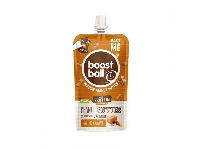 Boostball Arašídové máslo s proteinem - Slaný karamel 45 g