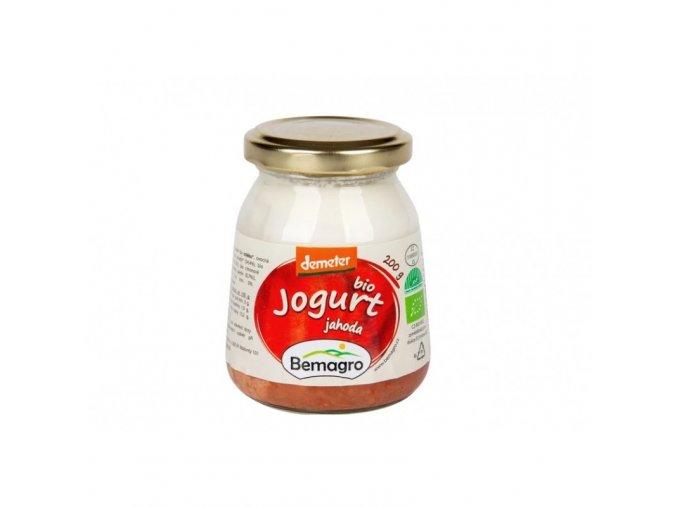 bemagro bio jogurt jahoda 200 g