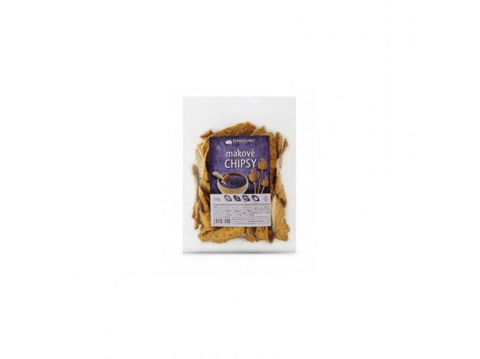 Damodara Makové chipsy 100 g