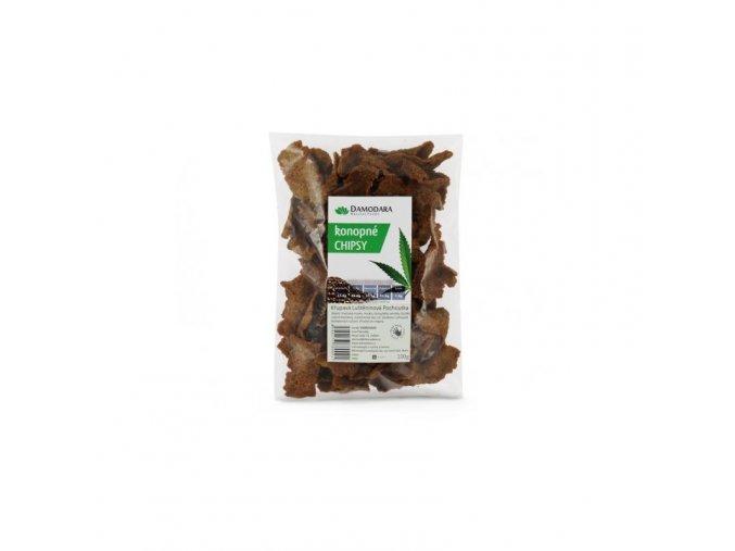 Damodara Konopné chipsy 100 g