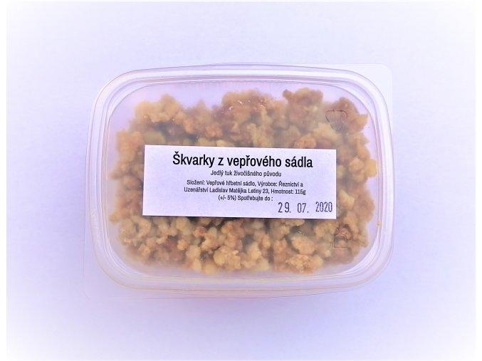 Škvarky v krabičce 115 g