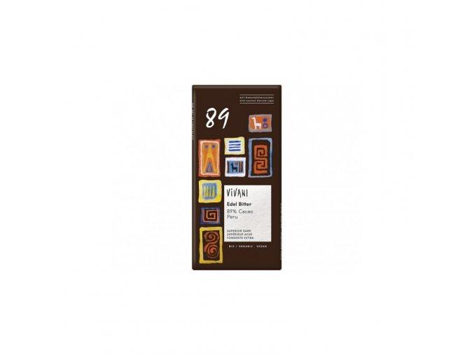 Vivani Bio hořká čokoláda 89% 80 g