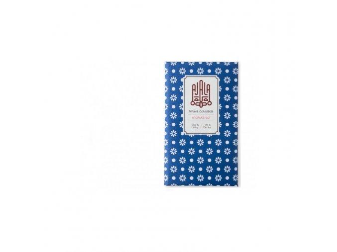 Ajala Chocolate Bio hořká čokoláda 70% s mořskou solí, výběrové boby  45 g
