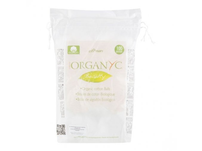Organic Tampony odličovací 100 ks