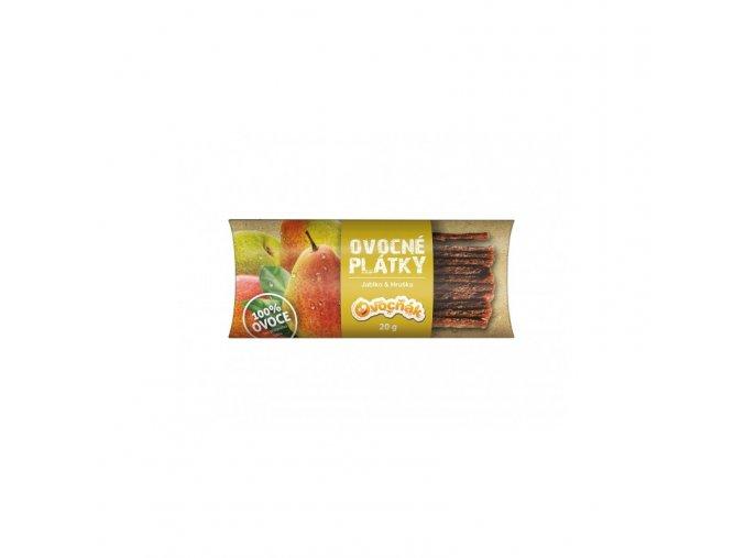 Ovocňák Ovocné plátky jablko a hruška 20 g