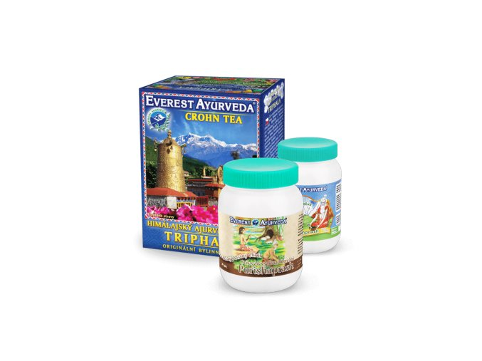 detoxikace strevniho traktu triphala purishaprash chyawanprash2x