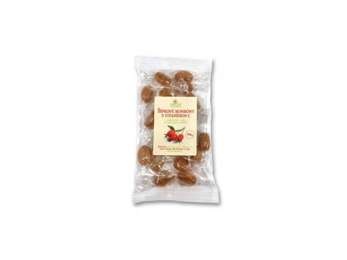 Grešík Šípkové bonbóny s vitamínem C 100 g