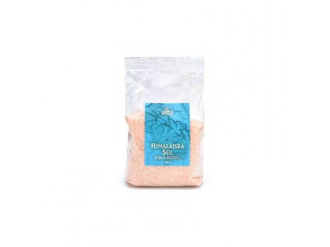 Grešík Himalájská sůl jedlá růžová jemná 600 g