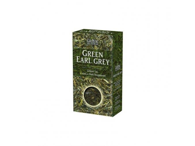Grešík Čaj sypaný Green Earl Grey 70 g