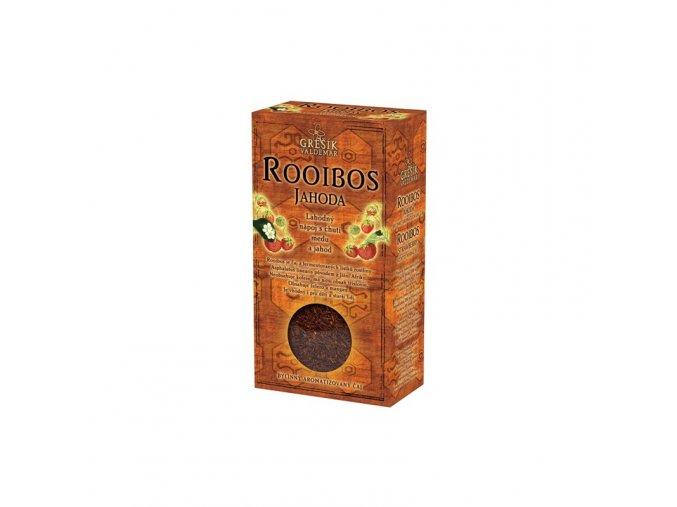 Grešík Čaj sypaný Rooibos jahoda 70 g