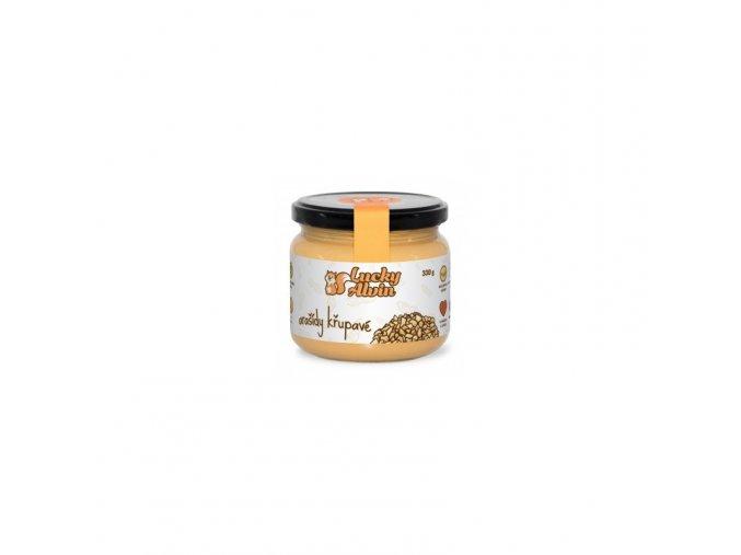 Lucky Alvin Arašídové máslo jemné 330 g