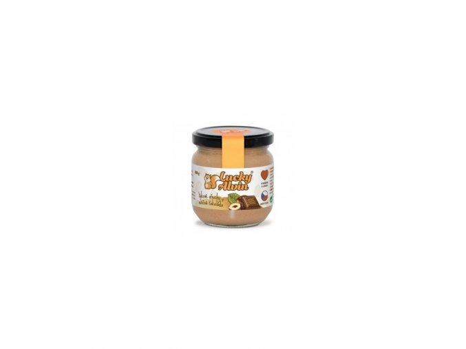 Lucky Alvin Lískovo oříškové máslo s mléčnou čokoládou 200 G