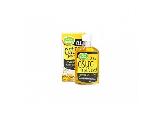 Green Apotheke Ostropestřecový olej 200 ml