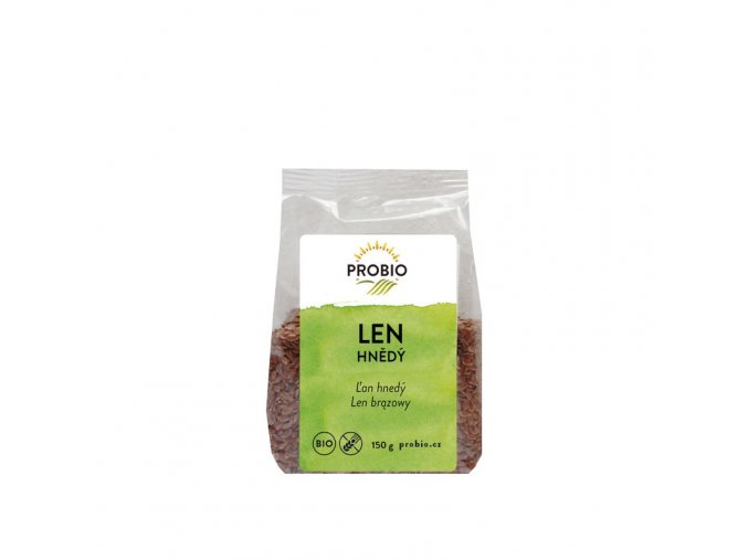 Probio Len hnědý Bio 150 g