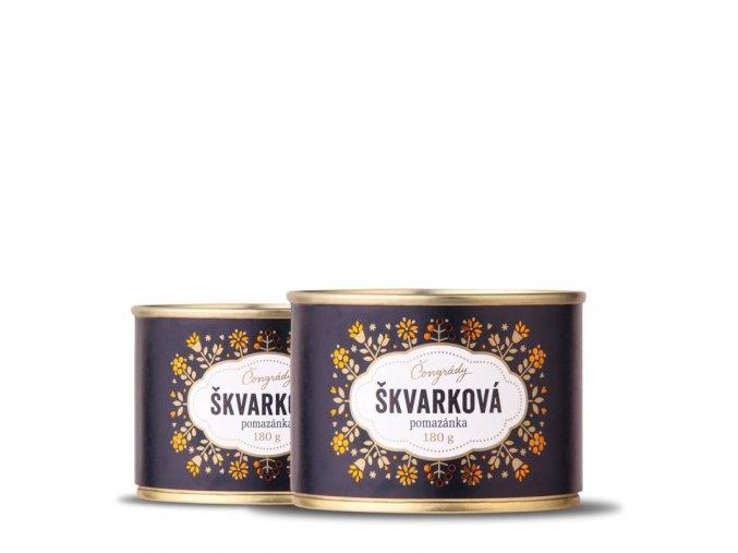Čongrády Škvarková pomazánka 180 g