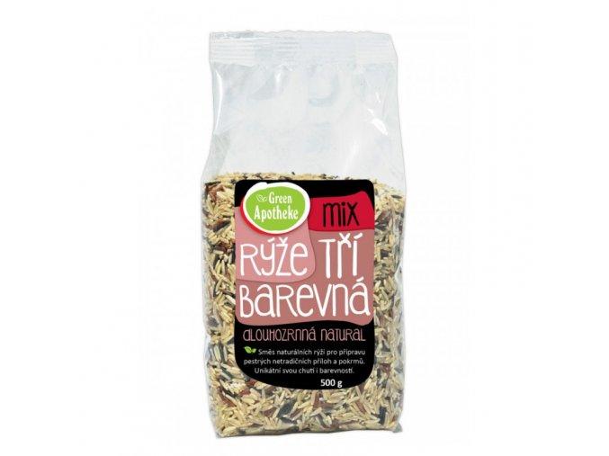 Green Apotheke Rýže tříbarevný mix 500 g