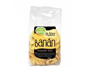 Green Apotheke Banán plátky nesířené 100 g