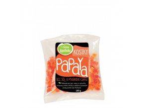 Green Apotheke Papaya kostky nesířené 100 g