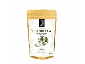 Natu Chlorella bio prášek 80 g