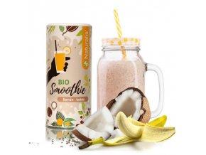 Naturalis Smoothie banán a kokos bio 180 g