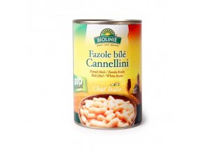 Biolinie Konzerva fazole bílé Cannellini 400 g Bio
