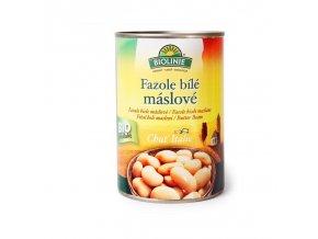 Biolinie Konzerva fazole bílé máslové Bio 400 g