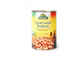 Biolinie Konzerva fazole hnědé Borlotti Bio 400 g