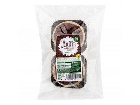 Muffin čokoládové brownie bez lepku 120 g Nelepek