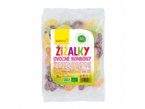 Wolfberry Ovocné bonbóny žížaly bio 75 g