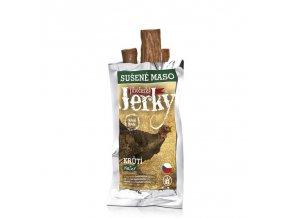 Jihočeské Jerky krůtí natural 23 g