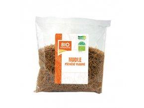 Bio Harmonie Nudle pšeničné vlasové celozrnné Bio 300 g
