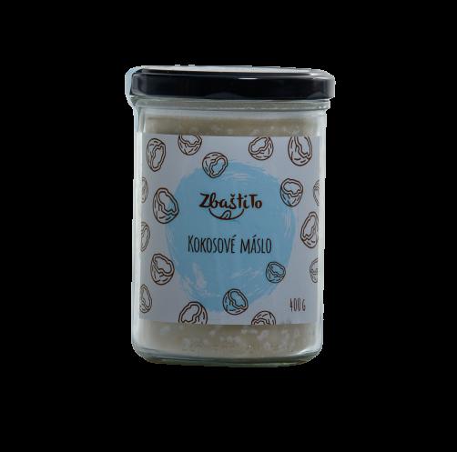 Zbaštito Kokosové máslo 400 g