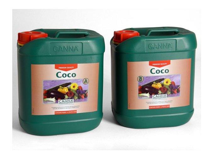 Canna Coco A+B sada 5l, růstové a květové hnojivo