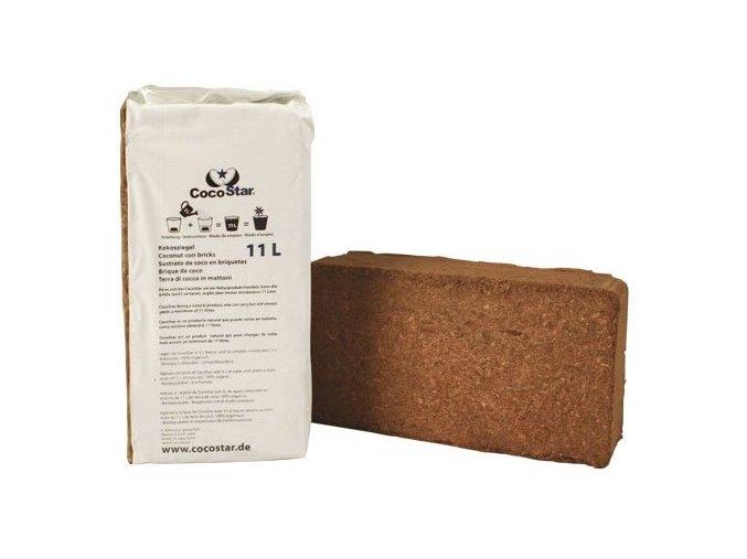 CocoStar Brick 11l, lisovaný kokos 20x10x5,5cm