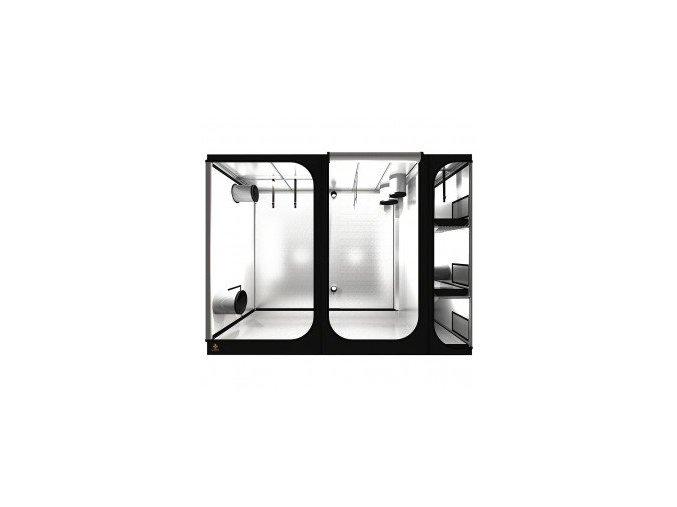 DARK ROOM LODGE L280 Rev 2,5 - 280x120x210 cm