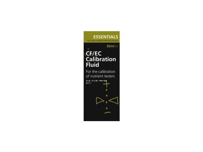 Kalibrovací roztok EC Essential - CF Standart 2,8mS 30ml