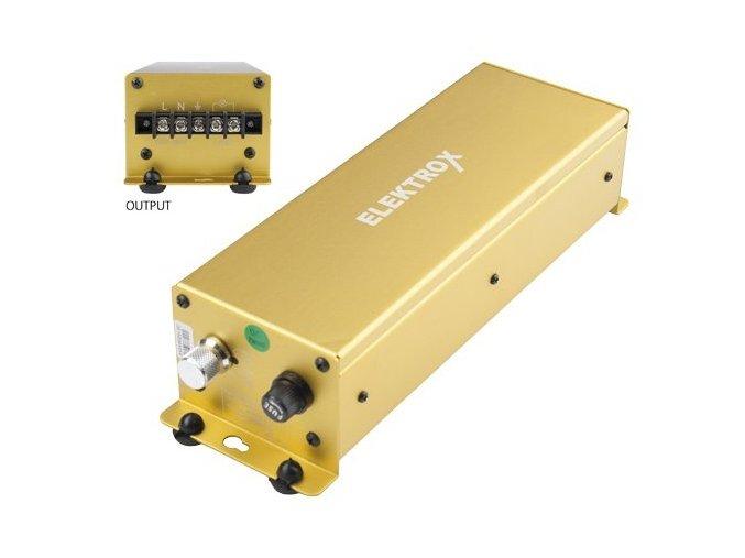 Elektronický předřadník ELEKTROX 400W - se čtyřpolohovou regulací - bez IEC Connectoru