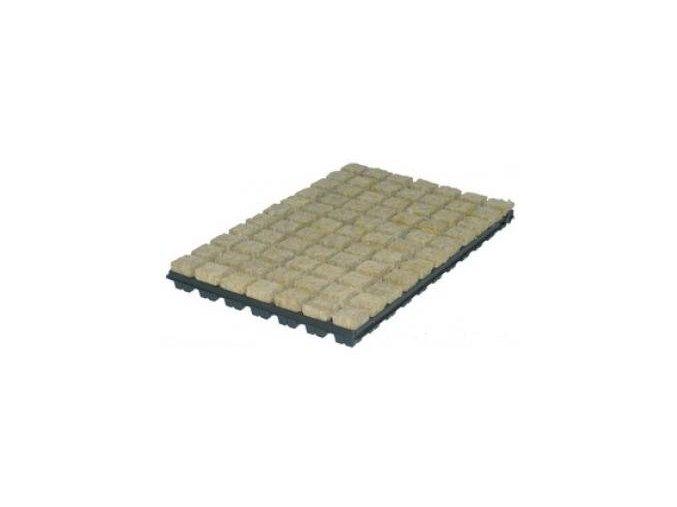 GRODAN sadbovací kostky 36x36x40mm v sadbovači po 77ks, box 18 sadbovačů