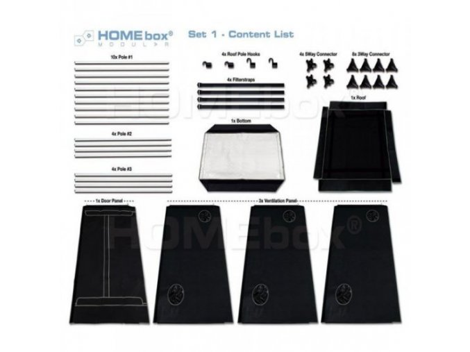Homebox Modular 120 Set 1