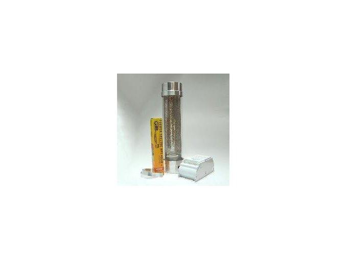 KIT 400W Cooltube s odtahem 150mm + výbojka GIB Lighting Flower Spectre HPS