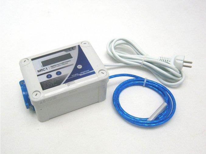 Digitální termostat časový (topení nebo chlazení)