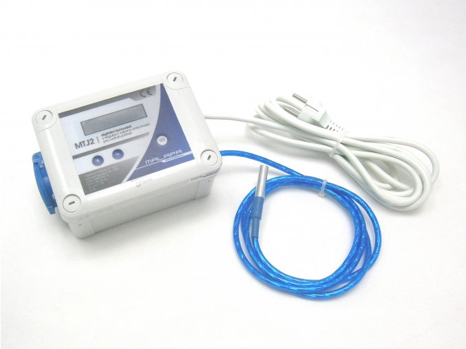 Digitální regulovaný termostat pro odsávání